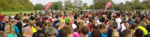 Lymington 10K, view from the start