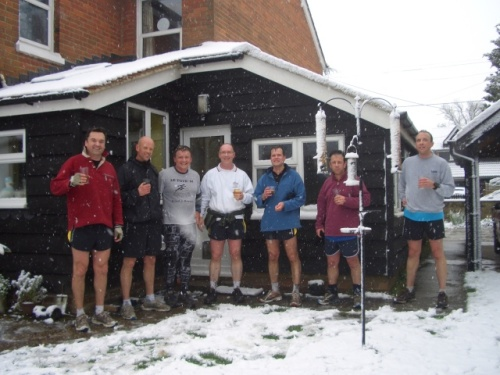 Curry Club runners back at Steve;s
